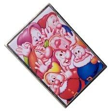 Disney's 7 Dwarves Collectors Commemorative Pinback.