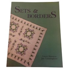 Sets and Borders American Quilter's Society by Gwen Marston Joe Cunningham