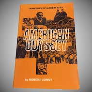 American Odyssey  A History of A Great City Detroit  Robert Conot, WSU Press