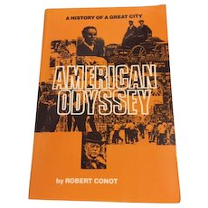 American Odyssey  A History of A Great City Detroit  Robert Conot