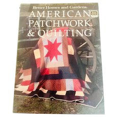 Better Homes and Gardens American Patchwork and Quilting Editor Gerald M. Knox