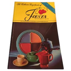 Collectors Encyclopedia of Fiesta plus Harlequin, Riviera & Kitchen Kraft 4th Edition, Softcover