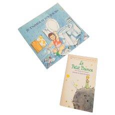 French Children's Books Le Petit Prince  1971- Je T'aimerai Toujours  1988