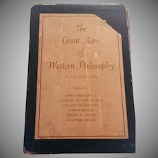 The Great Ages of Western Philosophy 6 Volumes in Slip Case 1957