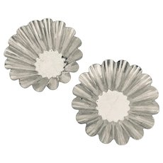 Tart  Mold  Pair  Vintage Steel from West Germany  Early 20th Century