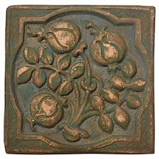 Batchelder Arts and Crafts Tile Los Angeles circa 1880-1910