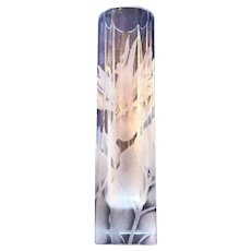 Frank Oda Arts Hawaii Birds of Paradise Vase by Frank Oda/Gary Oda