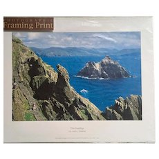 The Skelligs Photographic Print by Liam Blake Co. Kerry, Ireland