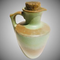 Frankoma Pottery Pitcher Plainsman Woodland Moss Mold 838 Signed 1950's