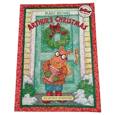 Arthur's Christmas 1984 Paperback Edition  by Marc Brown