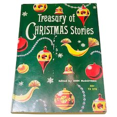 Clearance!  Treasury of Christmas Stories edited by Ann McGovern  Illustrated by David Lockhart 1960
