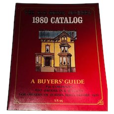 The Old House Journal 1980 Catalog A Buyers Guide