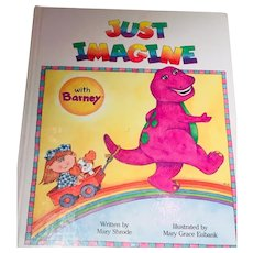 Just Imagine with Barney by Mary Shrode Illustrator Mary Grace Eubank