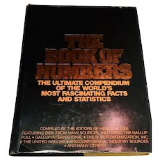 The Book of Numbers Facts and Statistics Compiled by the Editors of Heron House 1978