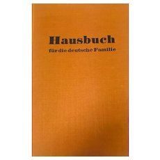 Hausbuch fur die deutsche Familie 1958 A book of Guidance for the Home and Family