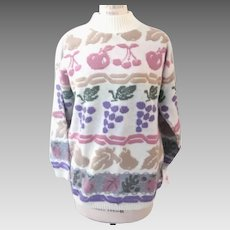 Bay Pointe Threads Vintage Sweater Made in USA 1980's
