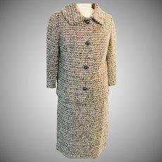 Capriel Original Impact Women's Suit  100% Wool 1950's Made in Belgium