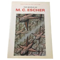 The World of M.C. Escher New Concise Edition 1972