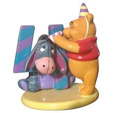 Disney Pooh and Friends Birthday Series 4 Year Keepsake/Pooh, Eeyore