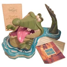 Walt Disney Classics Collection Tick Tock from Peter Pan Figurine
