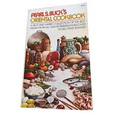 Pearl S. Buck's Oriental Cookbook, A Fireside Book, 1972