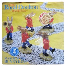 Royal Doulton Oompah Band March of the Bunnykins Record Jubilee Edition
