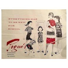 Pogue's Children's Clothing Catalog - Cincinnati's Premier High End Store 1950's