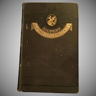 Cooper's Leather Stocking Tales, D Appleton and Company Publisher 1880