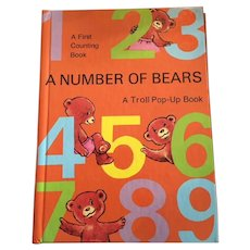 A Number of Bears A Troll Pop-Up Book / First Counting Book