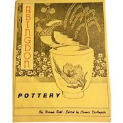 Vintage Abingdon Pottery Norma Rehl: Edited by C. DeAngelo, signed by author