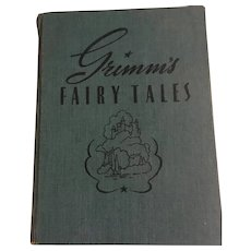 Grimm's Fairy Tales Illustrated by Erwin L. Hess, First Edition 1941