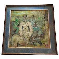 Original Oil Painting by Bramasto