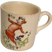 Borden Elsie the Cow Vintage Mug, circa 1940