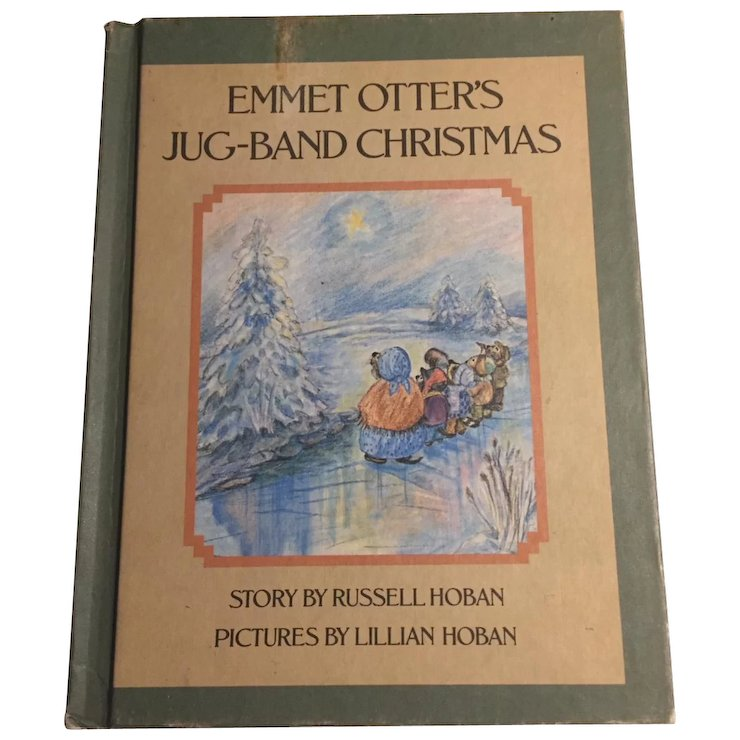 Emmet Otter\'s Jug-Band Christmas by Russell & Lillian Hoban, 1st ...
