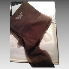 Vintage Christian Dior Ultra Dior Stockings  Size 91/2 M, Made in USA