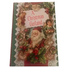 A Christmas Garland Book, Collection of Stories and Poems, 1981, C.R. Gibson
