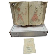 Cinderella's Sewing Book  from the Walt Disney Collector's Club