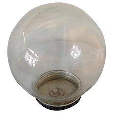 Bowl-O-Beauty Vintage Round Glass Display Jar Terrarium Display Dome - Red Tag Sale Item