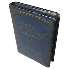 "Metal Mini Book Bank ""The Road to Success"""