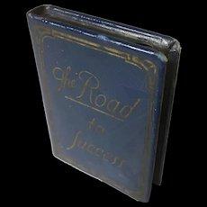 "Metal Mini Book Bank ""The Road to Success"""