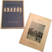 A Pair of Vintage Wedgwood Books- A Living Tradition and 11th Annual International Seminar