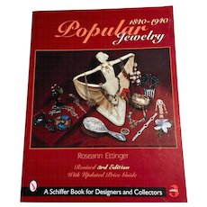 Popular Jewelry 1840 - 1940 by Roseann Ettinger Revised 3rd Edition