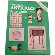 Schroeder's Antiques Price Guide, rare Sixth Edition, Paperback, 1988