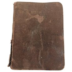 Antique Red Letter Pocket New Testament Bible circa 1900 John C. Winston Publisher
