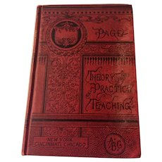 Antiquarian Theory and Practice of Teaching,  by David M. Page,  1885