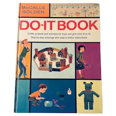 McCall's Golden DO-IT BOOK 1960's - Crafts, Projects, Activities for Boys and Girls