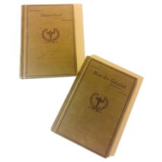 Heaths Modern Language Series Books -Moni de Geissbub Joanna Spyri and Eingeschneit  Emil Frommel 1890's