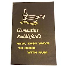 Clementine Paddleford's New, Easy Ways to Cook with Rum