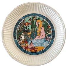 Wedgwood Children's Story Plate 1975 The Little Mermaid Hans Christian Andersen