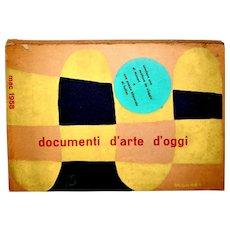 Documenti d'Arte d'Oggi. M.A.C. Milan, 1958 Abstract Art Almanac